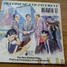 Discos de vinil: HEAVEN 17. PENTHOUSE AND PAVEMENT... Lote 36473710