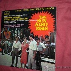 Discos de vinilo: THE SUN ALSO RISES -FIESTA-1957 LP BANDA SONORA ORIGINAL MUSICA HUGO FRIEDHFER REE 1981. Lote 36477403