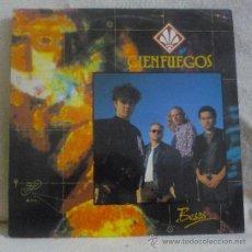 Discos de vinilo: CIENFUEGOS - BESOS LP ZAFIRO - 30312609-1 - ESPAÑA 1990 - ENCARTE CON LETRAS. Lote 36066705