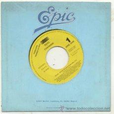 Discos de vinilo: SINGLE PROMO 45 RPM / CHAYANNE / SOLEIL SOLEIL ( FERNANDO ARBEX BRINCOS ) . Lote 36482559