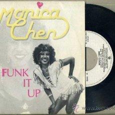 Discos de vinilo: MONICA CHEN : FUNK IT UP (1983). Lote 36485690