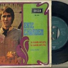 Discos de vinilo: ERIC CHARDEN : LE MONDE EST GRIS, LE MONDE EST BLEU (1968). Lote 36486066