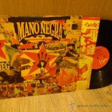 Discos de vinilo: MANO NEGRA AMERIKA PERDIDA LP VINILO MANU CHAO. Lote 36492056