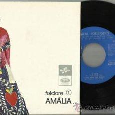 Discos de vinilo: AMALIA RODRIGUES EP FOLCLORE 1 O TREVO PORTUGAL. Lote 36492881