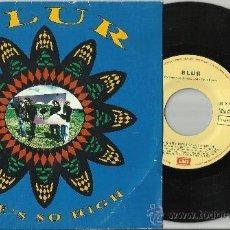 Discos de vinilo: BLUR SINGLE PROMOCIONAL SHE'S SO HIGH ESPAÑA 1992. Lote 36505105