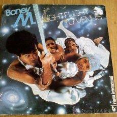 Discos de vinilo: BONEY M. NIGHTFLIGHT TO VENUS.. Lote 36521099