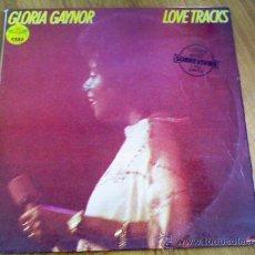 Discos de vinilo: GLORIA GAYNOR. LOVE TRACKS.. Lote 36576018