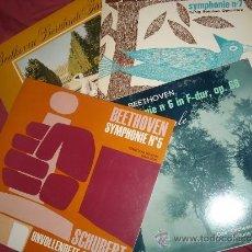 Discos de vinilo: BEETHOVEN LOTE 4 LPS CONCER HAL M-2341-2320-2283-2239 KLETZKI-OTTERLOO-KLETZKI-JOSEFOEITZ. Lote 36515096