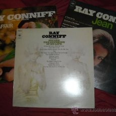 Discos de vinilo: RAY CONNIFF LOTE 3 LP LOVE AFFAIR-JEAN- YOU ARE THE SUNSCHINE OF MY LIFE. Lote 36515299