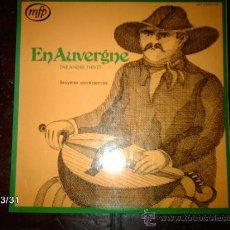 Discos de vinilo: ANDRE THIVET - ANDRE THIVET EN AUVERGNE. Lote 36589335