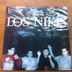Discos de vinilo: LOS NIKIS. BRUTUS. SINGLE. Lote 36554070