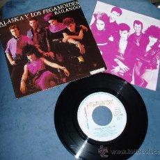 Discos de vinilo: ALASKA Y LOS PEGAMOIDES EP BAILANDO + 2 POP MOVIDA 80S CON ENCARTE SPAIN. Lote 36555342