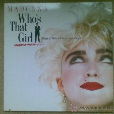 Discos de vinilo: MADONNA / WHO'S THAT GIRL?. Lote 36558348