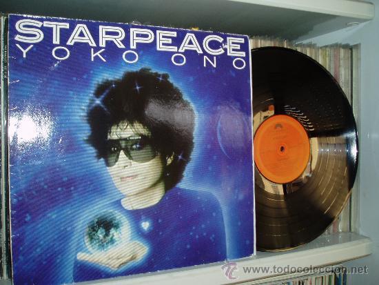 YOKO ONO LP STARPEACE BEATLES 1985 GERMANY (Música - Discos - LP Vinilo - Pop - Rock - New Wave Extranjero de los 80)