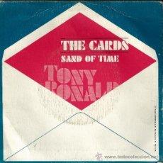 Discos de vinilo: TONY RONALD THE CARDS. Lote 36561022