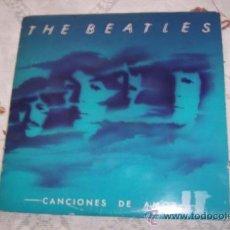 Discos de vinilo: THE BEATLES - 2 LP CANCIONES DE AMOR (1982) EDIC.ESPAÑA CON INSERTCOMPLETOS. Lote 36570019