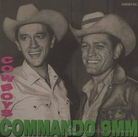 COMMANDO 9MM - EL POLLO FUNKY - COWBOYS VOL. 1 - SINGLE - RAREZA (Música - Discos - Singles Vinilo - Grupos Españoles de los 90 a la actualidad)