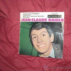 Discos de vinilo: JEAN CLAUDE DAIGLE EP RCA 86114 FRANCE 1965 VER FOTO ADICIONAL. Lote 36577709