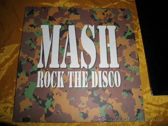 MASK. ROCK THE DISCO. MAXI- SINGLE. BLANCO Y NEGRO (Música - Discos de Vinilo - Maxi Singles - Rock & Roll)