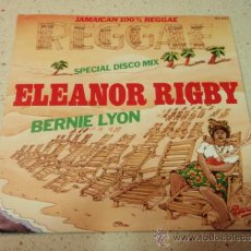 Discos de vinilo: BERNIE LYON ( ELEANOR RIGBY - BABYLON IS NOT A DREAM ) 'SPECIAL DISCO MIX' 1979-FRANCE SINGLE45 . Lote 36581018