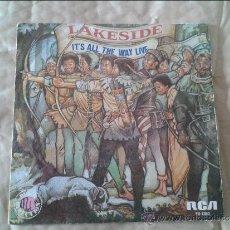 Discos de vinilo: SINGLE LAKESIDE. RCA. 1979. Lote 36582502