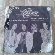 Discos de vinilo: SINGLE PLAYER. PHILIPS. 1977. Lote 36582542