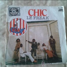 Discos de vinilo: SINGLE CHIC. ATLANTIC. 1978. Lote 36582567