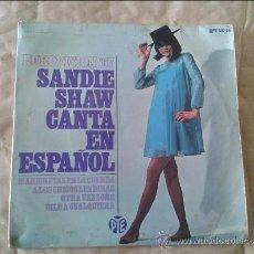 Discos de vinilo: SINGLE SANDIE SHAW CANTA EN ESPAÑOL. HISPAVOX. 1967. Lote 36582717