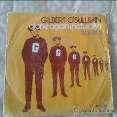 Discos de vinilo: SINGLE GILBERT O'SULLIVAN. MAM. 1972. Lote 36582796