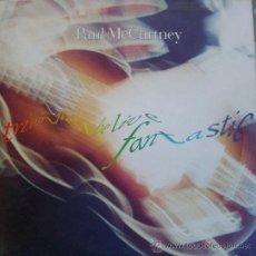 Discos de vinilo: TRIPLE LP TRIPPING THE LIVE FANTASTIC - PAUL MCCARTNEY - 1990 PARLOPHONE. Lote 36589981