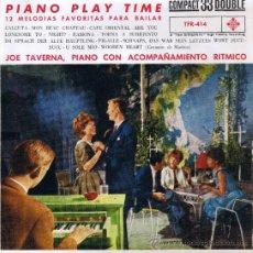 Discos de vinilo: JOE TAVERNA - PIANO ACOMPAÑAMIENTO RITMICO - CANCIONES EN DESCRIPCIÓN - FOTO ADICIONAL. Lote 36595668