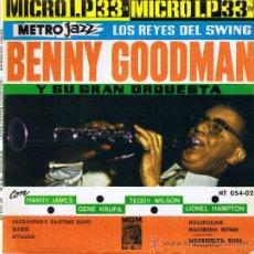 Discos de vinilo: BENNY GOODMAN Y ORQUESTA - HARRY JAMES - GENE KRUPA - TEDDY WILSON - LIONEL HAMPTON - FOTO ADICIONAL. Lote 36630184
