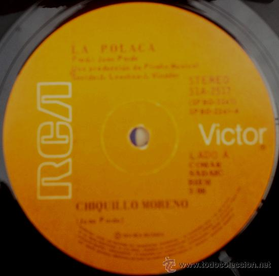 DOS SENCILLOS ARGENTINOS DE LA POLACA (Música - Discos - Singles Vinilo - Flamenco, Canción española y Cuplé)
