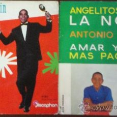 Discos de vinil: DOS EPS DE ANTONIO MACHÍN AÑO 1961 EDICIÓN ESPAÑOLA (SÓLO SON LAS PORTADAS). Lote 36621321
