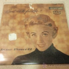 Discos de vinilo: JANE POWELL ( COMES LOVE - LET'S FACE THE MUSIC AND DANCE - CAN'T WE BE FRIENDS? - HOW COME YOU DO M. Lote 36621831