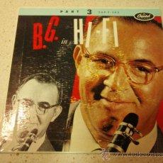 Discos de vinilo: BENNY GOODMAN HIS ORCHESTRA & HIS COMBOS ( B. G. IN HI-FI VOL. 2 ) GERMANY EP CAPITOL. Lote 36622558