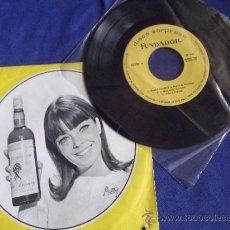 Discos de vinilo: FUNDADOR-SINGLE-45RPM-DISCO SORPRESA-1967-ISLAS CANARIAS-EL RELICARIO-MI JACA-CAPOTE Nº10120. Lote 36623473