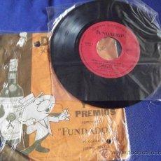 Discos de vinilo: FUNDADOR-SINGLE-45RPM-DISCO SORPRESA-1965-Nº10085-QUIQUE ROCA Y SU CONJUNTO-RITMO DE. Lote 36623606