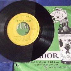 Discos de vinilo: FUNDADOR-SINGLE-45RPM-DISCO SORPRESA-1963-RICHARD LUND Y ORQUESTA SINFONICA-ESCUCHANDO A LOS CLASICO. Lote 36623855