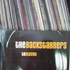 Discos de vinilo: THE BACKSTABBERS - TO ELEVEN. Lote 36626234