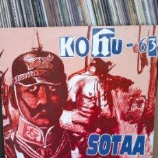 Discos de vinilo: KOHU-63 - SOTAA 81/82. Lote 36626260