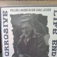 Discos de vinilo: CORROSIVE - LIFE ENDS ( FALLEN LASSEN IN EIN ODES LEIDEN ). Lote 36627511