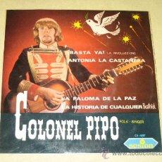 Discos de vinilo: COLONEL PIPO - 1967 - VINILO COMO NUEVO. Lote 36631950