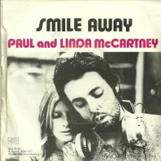 Discos de vinilo: PAUL AND LINDA MCCARTNEY SINGLE SELLO EMI-ODEON AÑO 1971 EDITADO EN ESPAÑA. Lote 36634931