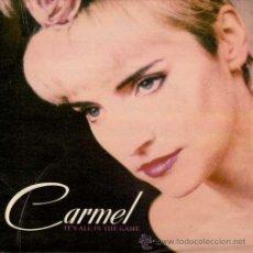 Discos de vinilo: CARMEL - IT'S ALL IN THE GAME / MORE, MORE, MORE (SINGLE 45 RPM). Lote 36636287