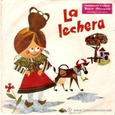 Discos de vinilo: CUENTO INFANTIL LA LECHERA MARFER 1967.PROMOCION STARLUX NARRADOR ARSENIO CORSELLAS. Lote 36638674