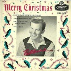 Discos de vinilo: PAT BOONE EP SELLO LONDON AÑO 1963 EDITADO EN ESPAÑA. Lote 36648760