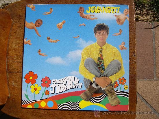 JOVANOTTI - GIOVANI - LP ED 1990 (Música - Discos - LP Vinilo - Canción Francesa e Italiana)
