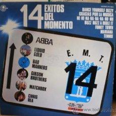 Discos de vinilo: 14 EXITOS DEL MOMENTO. Lote 36737028