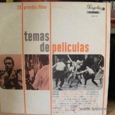 Discos de vinilo: 28 GRANDES FILMS TEMAS DE PELICULAS. Lote 36737038